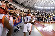 DESCRIZIONE : Roma Lega A 2012-13 Acea Roma Juve Caserta<br /> GIOCATORE : Lawal Gani<br /> CATEGORIA : esultanza tifosi curiosita<br /> SQUADRA : Acea Roma<br /> EVENTO : Campionato Lega A 2012-2013 <br /> GARA : Acea Roma Juve Caserta<br /> DATA : 28/10/2012<br /> SPORT : Pallacanestro <br /> AUTORE : Agenzia Ciamillo-Castoria/GiulioCiamillo<br /> Galleria : Lega Basket A 2012-2013  <br /> Fotonotizia : Roma Lega A 2012-13 Acea Roma Juve Caserta<br /> Predefinita :
