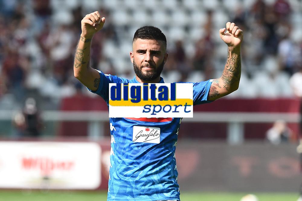 Lorenzo Insigne<br /> Torino 23-09-2018 Stadio Olimpico Grande Torino Football Calcio Serie A 2018/2019 Torino - Napoli Foto Image Sport / Insidefoto