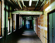 hallway in an old industrial building