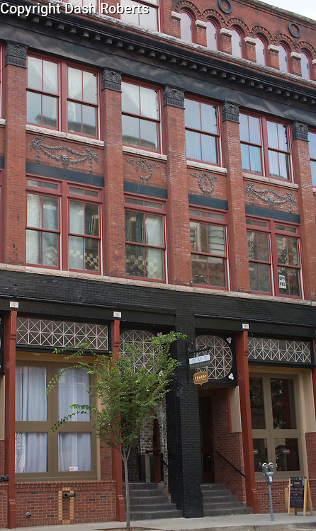 The building at 125 Jackson Avenue is a mixed use renovation that is home to Remedy Coffee, Knoxlife Church & includes an upper floor residential unit.