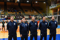 Slovenia staff before futsal friendly match between National teams of Slovenia and Italy, on December 3, 2019 in Maribor, Slovenia. Photo by Milos Vujinovic / Sportida