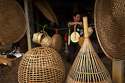 Traditional Isaan Village Baan Maichamuk, Isaan, Thailand