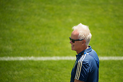 June 19, 2018 - Gelendzhik, RUSSIA - 180619 Doctor Anders Valentin of the Swedish national football team at a practice session during the FIFA World Cup on June 19, 2018 in Gelendzhik..Photo: Joel Marklund / BILDBYRN / kod JM / 87717 (Credit Image: © Joel Marklund/Bildbyran via ZUMA Press)