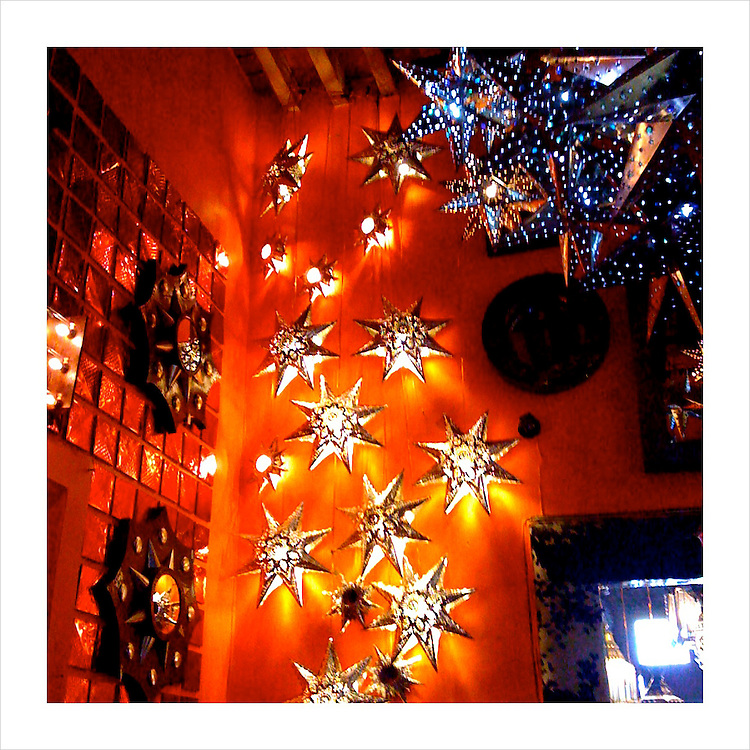Star Lamps, Tlaquepaque, Mexico. 4/15/09 (iPhone image)