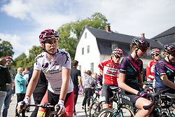Lisa Klein (GER) of Cervélo-Bigla Cycling Team arrives at the start of Stage 2 of the Ladies Tour of Norway - a 140.4 km road race, between Sarpsborg and Fredrikstad on August 19, 2017, in Ostfold, Norway. (Photo by Balint Hamvas/Velofocus.com)