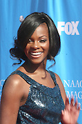 Tika Sumpter arriving at The 39th Annual NAACP IMAGE AWARDS held at the Shrine Auditorium in Los Angeles, Calaifornia on February 14, 2008