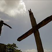 REPORTAJE DEL ESTADO SUCRE<br /> Monumento a Cristobal Colon<br /> Macuro, Estado Sucre - Venezuela 2007<br /> Photography by Aaron Sosa<br /> (Copyright © Aaron Sosa)