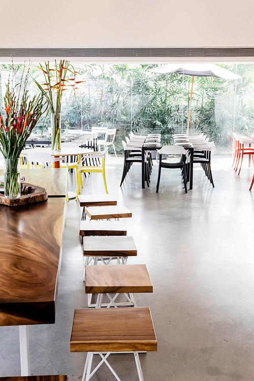 cafe at MAIIAM Contemporary Art Museum