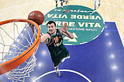 DESCRIZIONE : Eurocup 2014/15 Last32 Dinamo Banco di Sardegna Sassari -  Banvit Bandirma<br /> GIOCATORE : Vladimir Dragicevic<br /> CATEGORIA : Tiro Penetrazione Sottomano<br /> SQUADRA : Banvit Bandirma<br /> EVENTO : Eurocup 2014/2015<br /> GARA : Dinamo Banco di Sardegna Sassari - Banvit Bandirma<br /> DATA : 11/02/2015<br /> SPORT : Pallacanestro <br /> AUTORE : Agenzia Ciamillo-Castoria / Luigi Canu<br /> Galleria : Eurocup 2014/2015<br /> Fotonotizia : Eurocup 2014/15 Last32 Dinamo Banco di Sardegna Sassari -  Banvit Bandirma<br /> Predefinita :