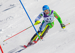 61# Kosi Klemen from Slovenia during the slalom of National Championship of Slovenia 2019, on March 24, 2019, on Krvavec, Slovenia. Photo by Urban Meglic / Sportida