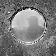 Shaun in a porthole profile