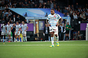 Virimi Vakatawa (Racing 92) during the French championship Top 14 Rugby Union match between Racing 92 and SU Agen on September 8, 2018 at U Arena in Nanterre, France - Photo Stephane Allaman / ProSportsImages / DPPI