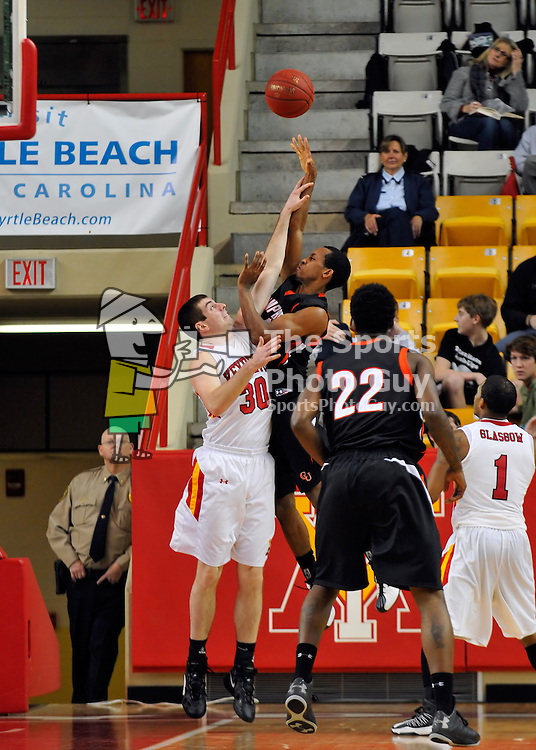 NCAA Men's Basketball - VMI rides decisive 2nd half to put down Camels, remain unbeaten in Big South play