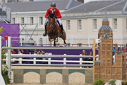 Guerdat Steve (SUI) - Nino des Buissonnets<br /> Olympic Games London 2012<br /> © Dirk Caremans