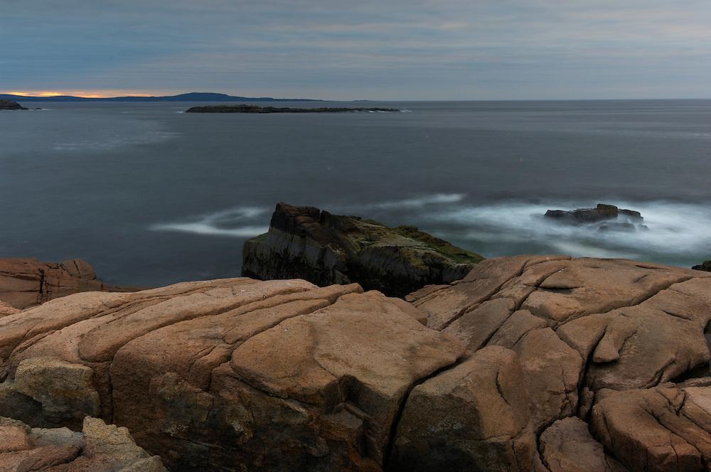 Thunder Hole, Acadia National Park, Bar Harbor, Maine