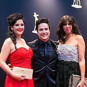 NLD/Utrecht/20130102 - NFF 2013 - premiere Chez Nous, Tina de Bruin, Tim Oliehoek en Isa Hoes