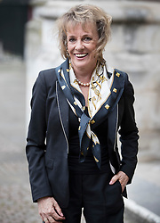 © Licensed to London News Pictures. 27/09/2016.  Esther Rantzen arrives for a Service of Thanksgiving for the Life and Work of Sir Terry Wogan at Westminster Abbey. Veteran broadcaster Sir Terry Wogan died in January 2016. The Irish star had a long and successful career at the BBC, including stints on  radio and TV. London, UK. Photo credit: Peter Macdiarmid/LNP