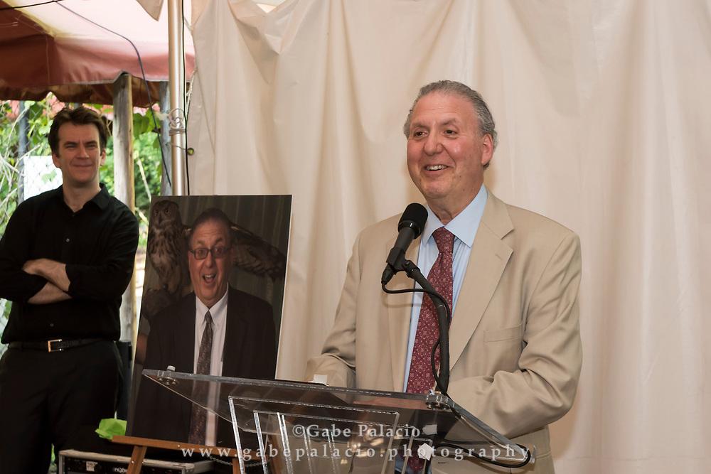 Reception Honoring Caramoor's longtime Managing Director Paul Rosenblum at Caramoor in Katonah New York on June 25, 2017. <br /> (photo by Gabe Palacio)