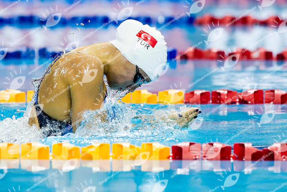 GUNES Viktoria Zeynep TUR<br /> 100 Breaststroke Women Gold Medal<br /> Day04 28/08/2015 - OCBC Aquatic Center<br /> V FINA World Junior Swimming Championships<br /> Singapore SIN  Aug. 25-30 2015 <br /> Photo A.Masini/Deepbluemedia/Insidefoto