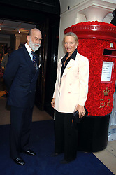 PRINCE & PRINCESS MICHAEL OF KENT at the Sotheby's Summer Party 2007 at their showrooms in New Bond Street, London on 4th June 2007.<br />