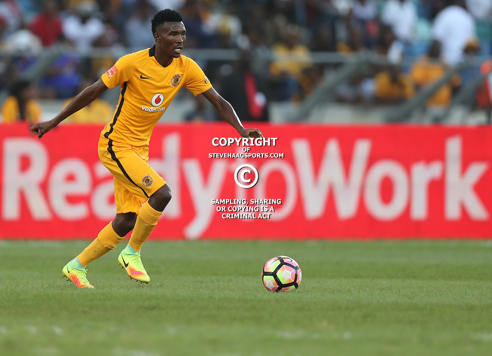 DURBAN, SOUTH AFRICA - FEBRUARY 18: Lucky Baloyi of Kaizer Chiefs during the Absa Premiership match between Kaizer Chiefs and Highlands Park at Moses Mabhida Stadium on February 18, 2017 in Durban, South Africa. (Photo by Steve Haag/Gallo Images)