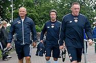 JACK DE GIER bij de trainingen van Willem II<br /> foto: Geert van Erven