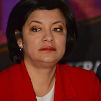 Toluca, México.- Martha Hilda González Calderón, alcaldesa de Toluca, dio a conocer el programa del Festival del Centro Histórico del 14 al 19 de marzo, con actividades musicales, teatro, danza, entre otras. Agencia MVT / Crisanta Espinosa