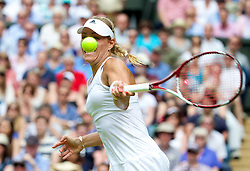 01.07.2014, All England Lawn Tennis Club, London, ENG, WTA Tour, Wimbledon, im Bild Angelique Kerber (GER) during the Ladies' Singles 4th Round match on day eight // during the Wimbledon Championships at the All England Lawn Tennis Club in London, Great Britain on 2014/07/01. EXPA Pictures © 2014, PhotoCredit: EXPA/ Propagandaphoto/ David Rawcliffe<br /> <br /> *****ATTENTION - OUT of ENG, GBR*****