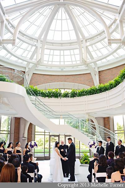 Boston Seaport Hotel Wedding.  Uplighting by Boston Uplights.  Images by Boston Wedding Photographer Michelle Turner.