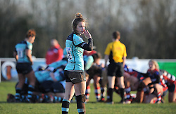 Megan Goddard of Worcester Valkyries - Mandatory by-line: Paul Knight/JMP - 04/12/2016 - RUGBY - Cleve RFC - Bristol, England - Bristol Ladies v Worcester Valkyries - RFU Women's Premiership