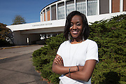 Brianna Reid, College of Business , Student, Sports Business_ Photo By Kaitlin Owens