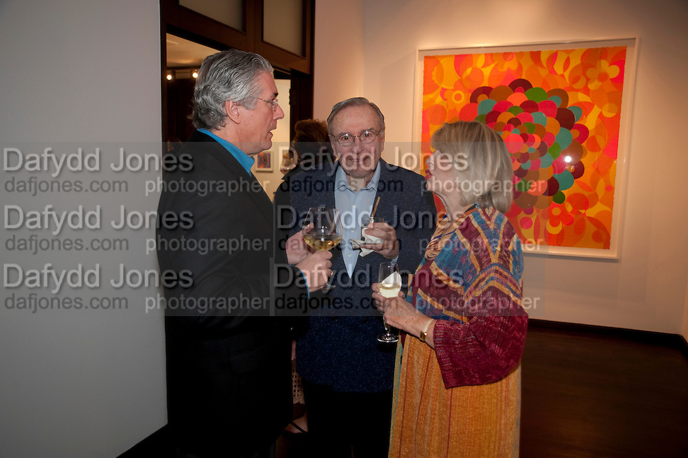 MIKE HANLEY; DON MAYERSON; EVELYN MAYERSON, , Galen and Hilary Weston host the opening of Beatriz Milhazes Screenprints. Curated by Iwona Blazwick. The Gallery, Windsor, Vero Beach, Florida. Miami Art Basel 2011