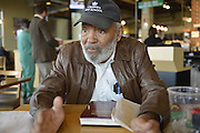 11/14/14 Jackson, MS. Photo by Suzi Altman<br /> Icon and Author James Meredith shares his mission and blue print on how to fix Mississippi and the world.