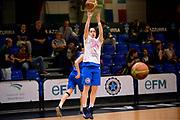 DESCRIZIONE : Roma Amichevole Pre Eurobasket 2015 Nazionale Italiana Femminile Senior Italia Ungheria Italy Hungary<br /> GIOCATORE : Francesca Dotto<br /> CATEGORIA : riscaldamento<br /> SQUADRA : Italia Italy<br /> EVENTO : Amichevole Pre Eurobasket 2015 Nazionale Italiana Femminile Senior<br /> GARA : Italia Ungheria Italy Hungary<br /> DATA : 15/05/2015<br /> SPORT : Pallacanestro<br /> AUTORE : Agenzia Ciamillo-Castoria/Max.Ceretti<br /> Galleria : Nazionale Italiana Femminile Senior<br /> Fotonotizia : Roma Amichevole Pre Eurobasket 2015 Nazionale Italiana Femminile Senior Italia Ungheria Italy Hungary<br /> Predefinita :