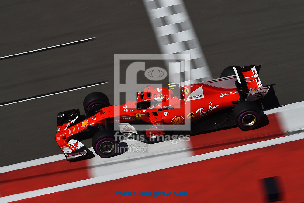 Kimi Raikkonen of Scuderia Ferrari en route to coming third in the Russian Formula One Grand Prix at Sochi Autodrom, Sochi, Russia.<br /> Picture by EXPA Pictures/Focus Images Ltd 07814482222<br /> 30/04/2017<br /> *** UK & IRELAND ONLY ***<br /> <br /> EXPA-EIB-170430-0268.jpg