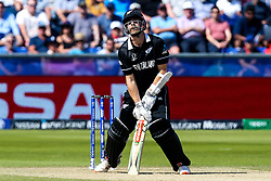 Kane Williamson of New Zealand cuts a frustrated figure - Mandatory by-line: Robbie Stephenson/JMP - 03/07/2019 - CRICKET - Emirates Riverside - Chester-le-Street, England - England v New Zealand - ICC Cricket World Cup 2019 - Group Stage