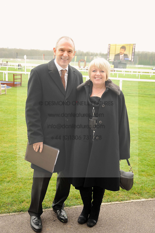 GRAHAM & MICHELLE BOYES at the 2008 Hennessy Gold Cup held at Newbury racecourse, Berkshire on 29th November 2008.<br /> <br /> NON EXCLUSIVE - WORLD RIGHTS
