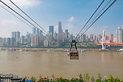 Dongshuimen Bridge, Yangtze River Tramway,  Chongquin, China