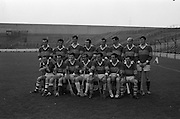 05/10/1969<br /> 10/05/1969<br /> 5 October 1969<br /> All-Ireland Junior (Home) Final: Kerry v Antrim at Croke Park, Dublin. <br /> The Kerry team which won the All-Ireland Junior (Home) Final.
