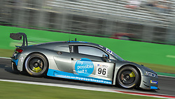 September 23, 2018 - Optimum Motorsport (Ellis/Wilkinson) at first chicane in Monza during the second qualifying session of International GT Open 2018. (Credit Image: © Riccardo Righetti/ZUMA Wire)