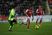 Rotherham United midfielder Grant Ward (17) breaks forward during the Sky Bet Championship match between Rotherham United and Brighton and Hove Albion at the New York Stadium, Rotherham, England on 12 January 2016.