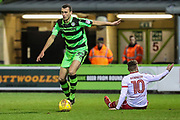 Forest Green Rovers Haydn Hollis(32) during the EFL Sky Bet League 2 match between Forest Green Rovers and Stevenage at the New Lawn, Forest Green, United Kingdom on 13 February 2018. Picture by Shane Healey.