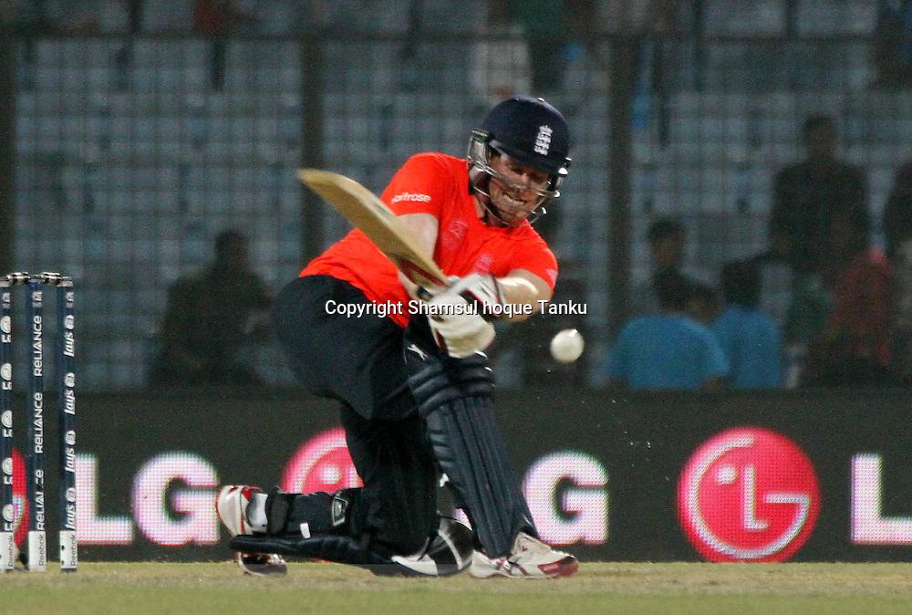 Alex Hales batting - England v Sri Lanka - ICC World Twenty20, Bangladesh 2014. 28 March 2014, Zahur Ahmed Chowdhury Stadium, Chittagong. Photo: Shamsul hoque Tanku/www.photosport.co.nz