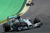 06 ROSBERG NICO (GER) - MERCEDES GP MGP W05 - ACTION during the 2014 Formula One World Championship, Brazil Grand Prix from November 6th to 9th 2014 in Sao Paulo, Brazil. Photo Eric Vargiolu / DPPI.