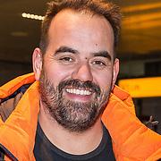 NLD/Amsterdam/20180209 - 538-team van Edwin Evers vertrekt naar de  Olympische Spelen, Niels van Baarlen