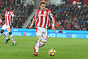 Moritz Bauer during the Premier League match between Stoke City and Manchester City at the Bet365 Stadium, Stoke-on-Trent, England on 12 March 2018. Picture by Graham Holt.