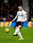 Andrew Robertson (26) of Liverpool during the Premier League match between Bournemouth and Liverpool at the Vitality Stadium, Bournemouth, England on 7 December 2019.