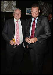 Sky News Jon Craig and Adam Bolton (L) attend The InterContinental Westminster  Political Party. London, United Kingdom. Wednesday, 11th September 2013. Picture by Andrew Parsons / i-Images