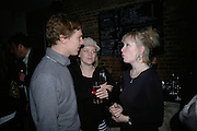 BENEDICT CUMBERBATCH, OLIVIA WILLIAMS AND LINDSAY DUNCAN, Tom Cairns directs Almeida Fundraising Benefit sponsored by Coutts and Co. -A Chain Play by Samuel Adamson, Moira Buffini, David Hare, Charlotte Jones, Frank McGuinness and Roy Williams. Almeida theatre. London. 23 March 2007.  -DO NOT ARCHIVE-© Copyright Photograph by Dafydd Jones. 248 Clapham Rd. London SW9 0PZ. Tel 0207 820 0771. www.dafjones.com.