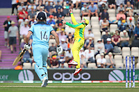 Cricket - 2019 ICC Cricket World Cup warm ups - England vs. Australia<br /> <br /> Steve Smith of Australia looks to have caught Englands James Vince only to spill the catch at the Ageas Bowl Southampton England<br /> <br /> COLORSPORT/SHAUN BOGGUST
